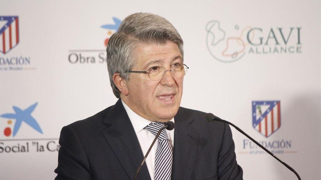 Enrique Cerezo, vicepresidente Atlético de Madrid