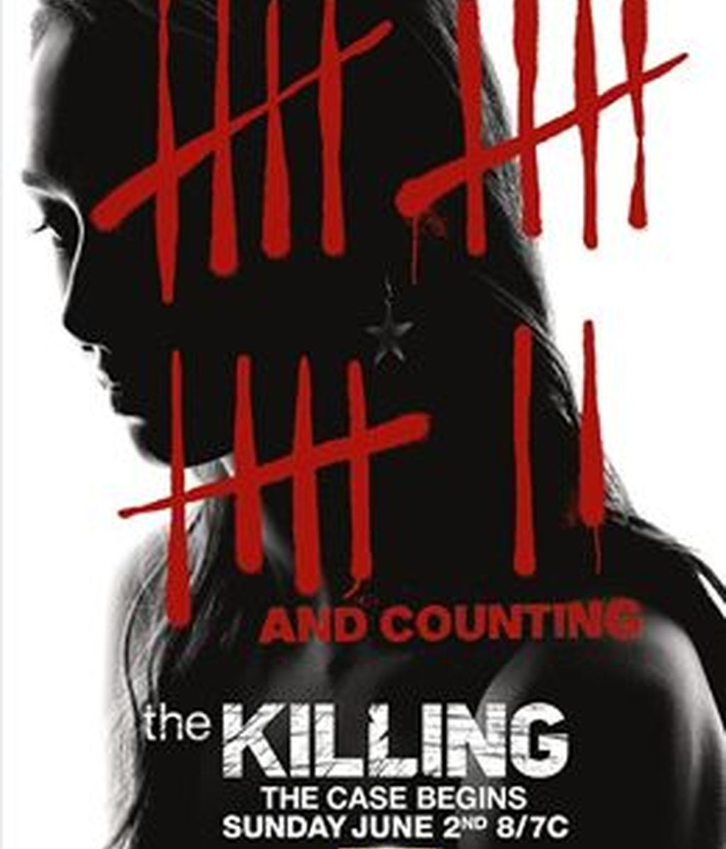 Cartel tercera temporada The Killing
