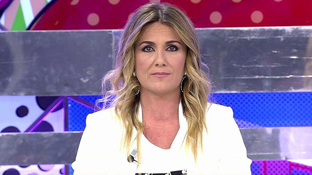 """Carlota Corredera y la marcha de Kiko Matamoros: """"Tengo mal sabor de boca"""""""
