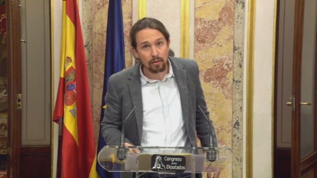 """Pablo Iglesias: """"El president de la Generalitat no ha proclamado la independencia"""""""