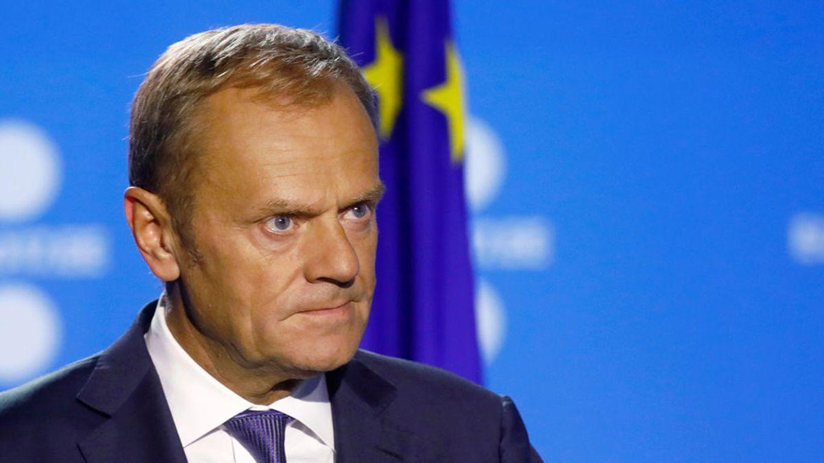 "Donald Tusk, a Puigdemont: ""Respete en sus intenciones el orden constitucional"""