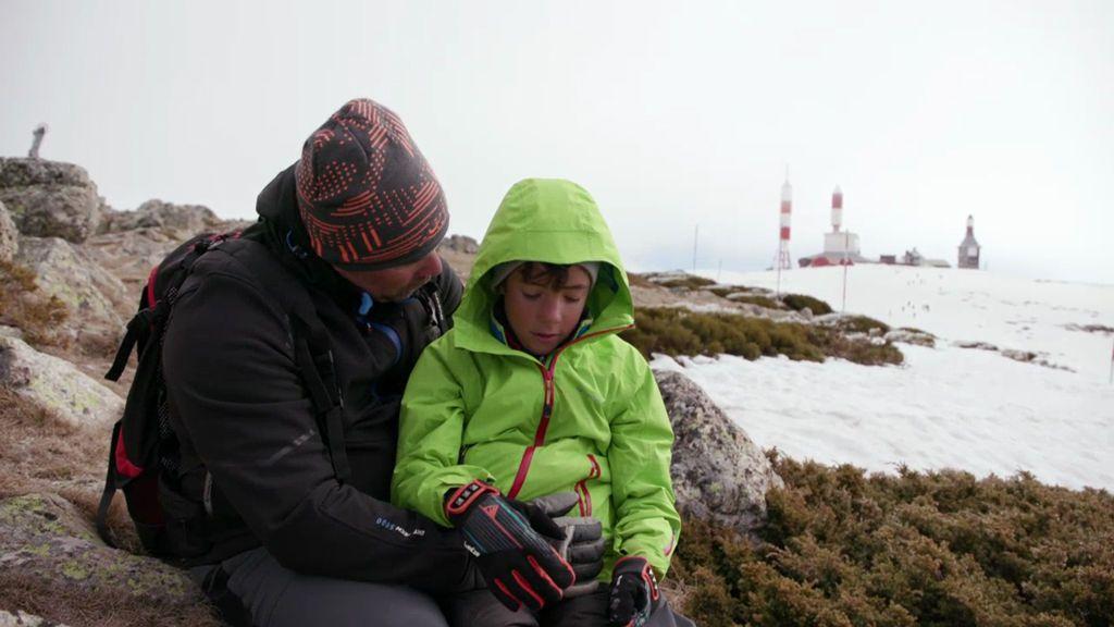 La misión más urgente de David: pasar un día entero con su hijo