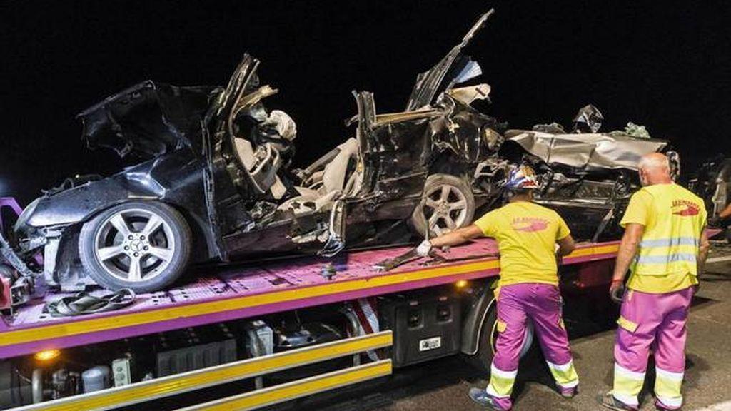 El accidente de tráfico en Murcia que ha dejado cinco muertos sigue sin entenderse