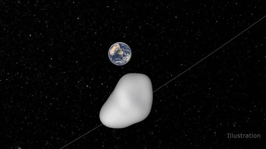 Este jueves, un asteroide 'rozará' la Tierra: ¿por qué todo el mundo está pendiente de él?