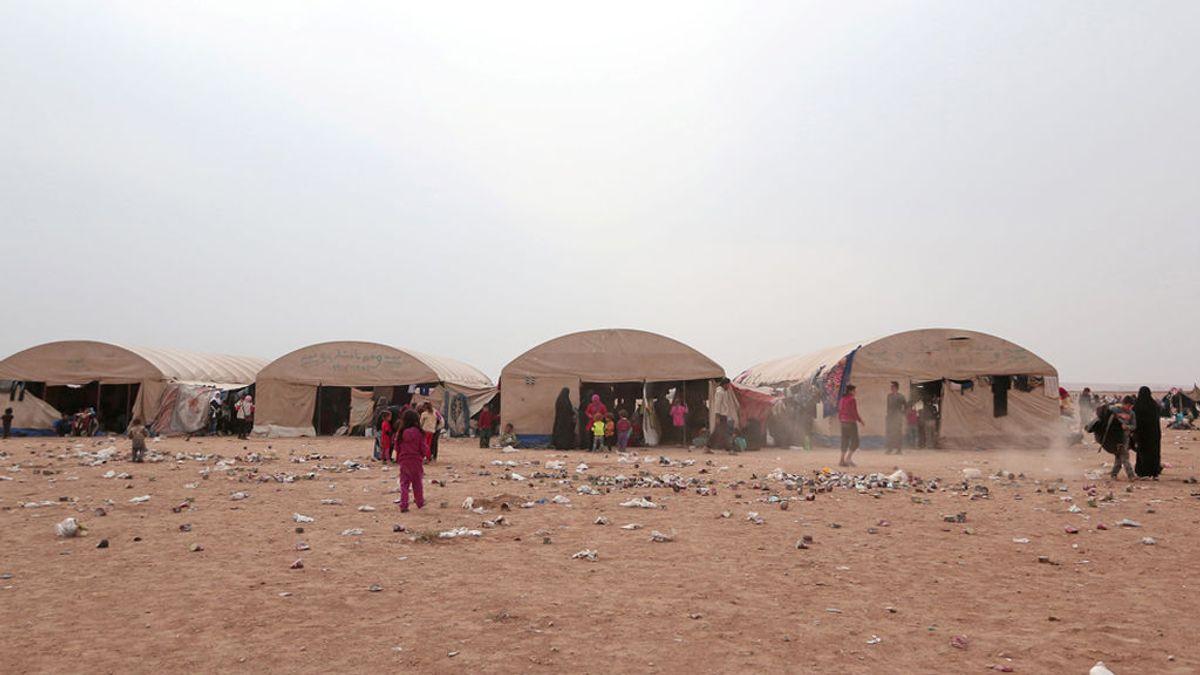Cincuenta muertos en un atentado de Estado Islámico contra refugiados sirios