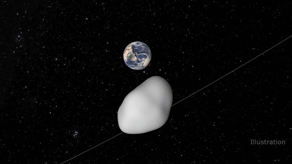 Un asteroide del tamaño de una vivienda pasará cerca de la Tierra el 12 de octubre