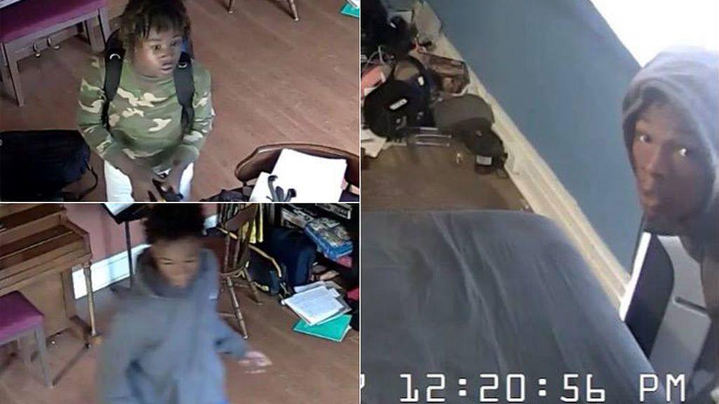 Llama a la policía para informar a la policía de que el sospechoso que buscan es su hijo