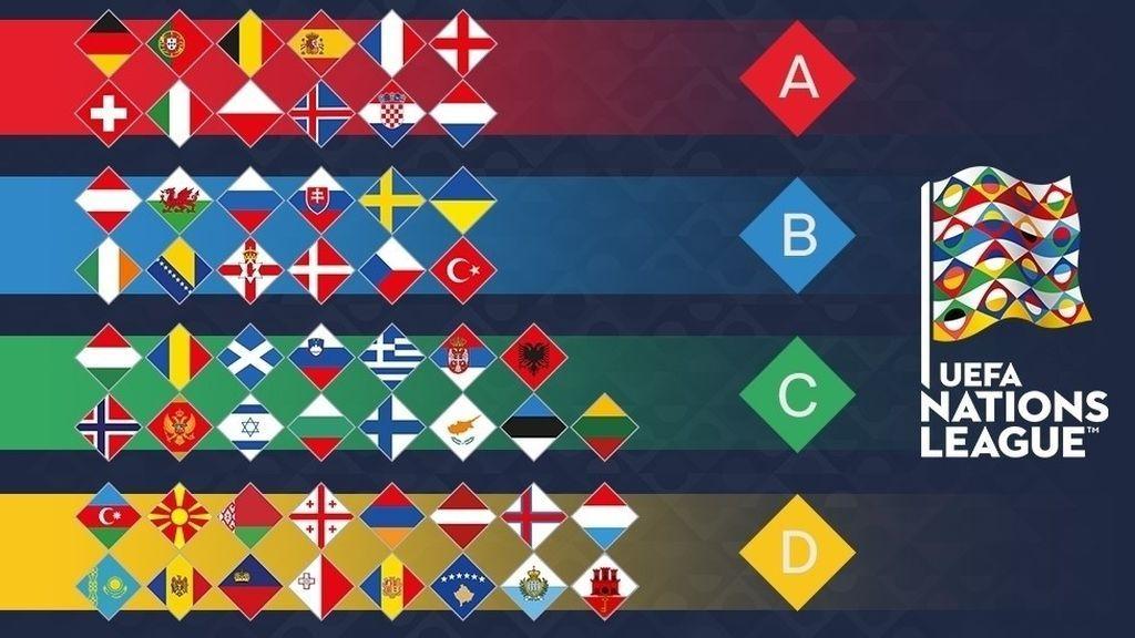 Así es La Liga de las Naciones, la nueva competición de la UEFA para decir adiós a los amistosos y facilitar el camino de los modestos a la Eurocopa
