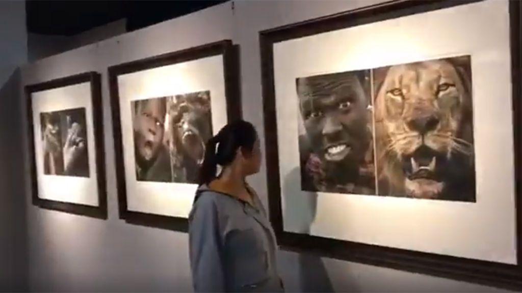 Indignación y enfado por la galería de un museo que compara africanos con animales