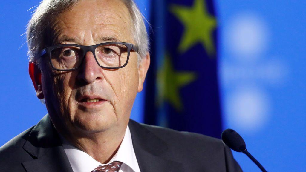 """Juncker descarta la mediación de la UE con Cataluña y avisa de que no quiere """"una Europa formada por 90 países"""""""