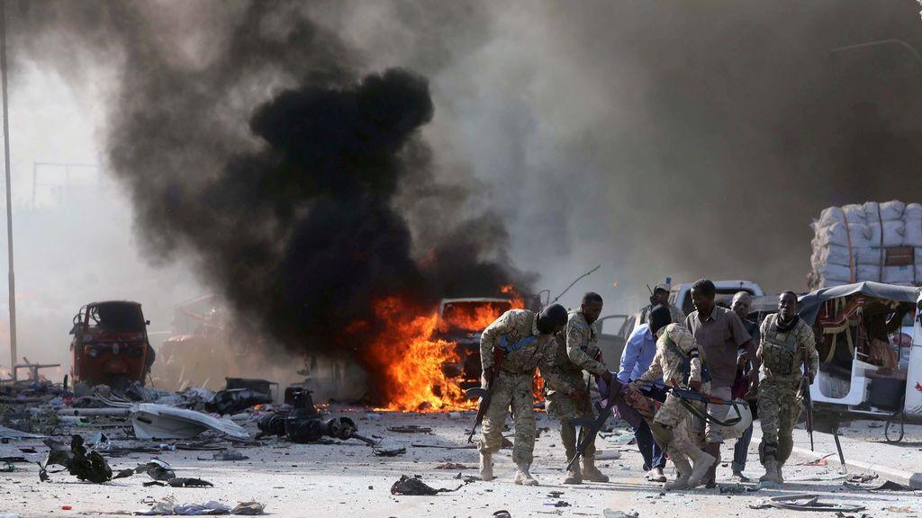 Al menos 15 muertos en un atentado con bomba en la capital de Somalia