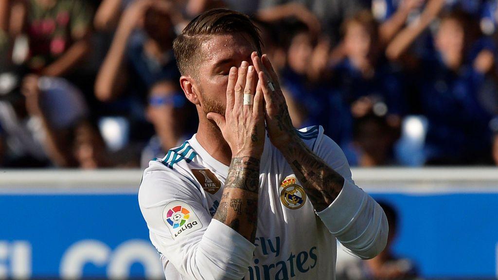 Sergio Ramos jugó al límite: vomitó antes del partido y tuvieron que darle suero