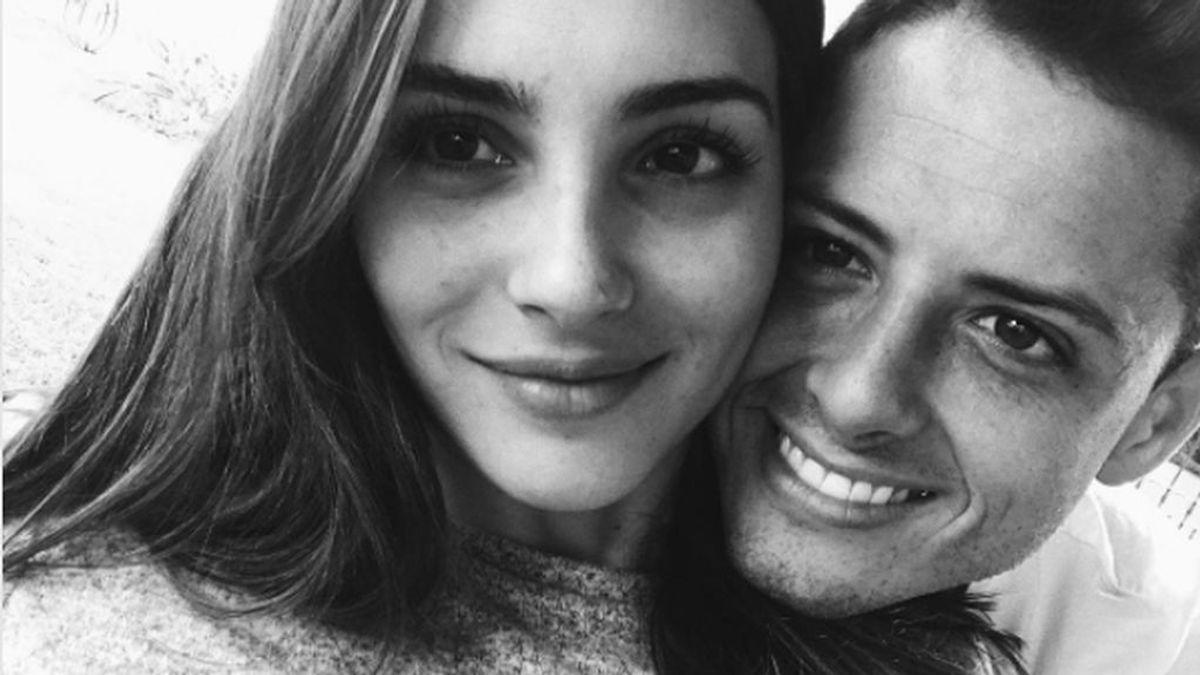 """Chicharito felicita a Andrea Duro: """"No dejes de sonreír y de ser feliz"""""""