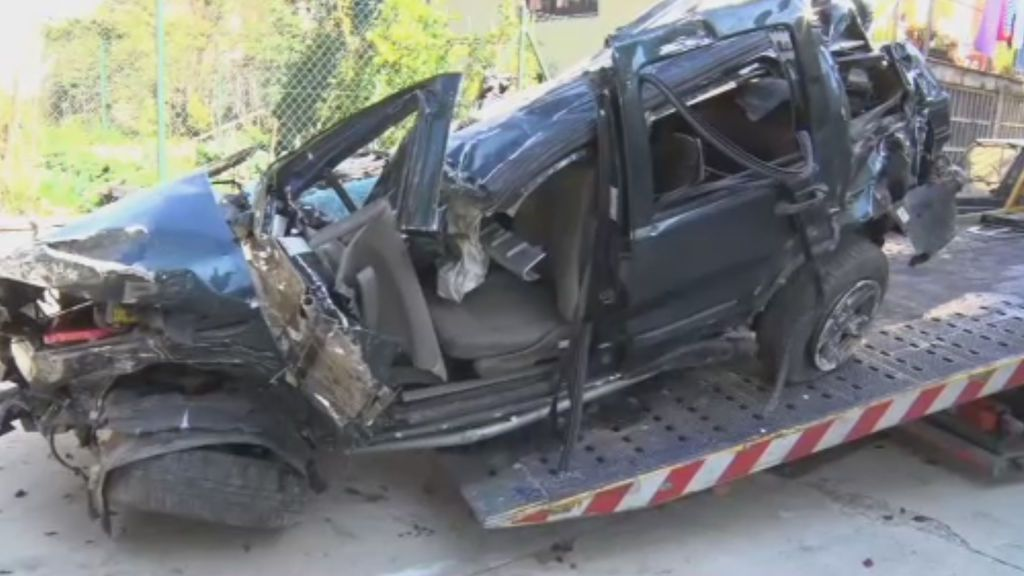 Mueren cuatro jóvenes en un accidente de tráfico en Girona