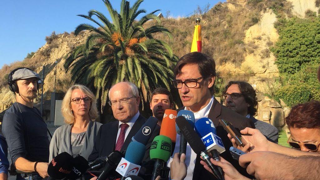 """Illa (PSC) pide a Puigdemont decir """"la verdad"""": que no declaró la independencia"""