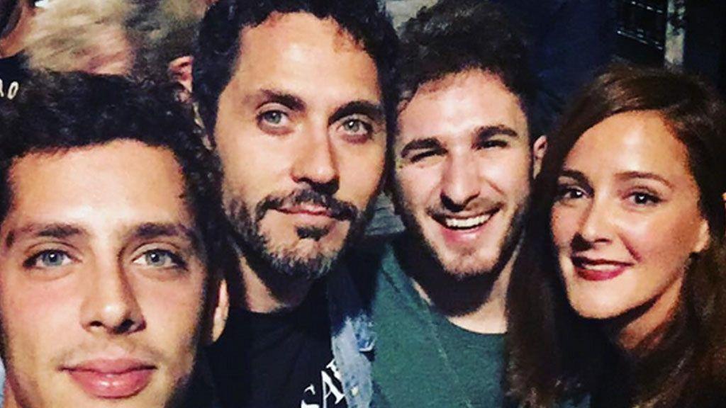 Paco León se reencuentra con sus 'niños' de 'Aida':