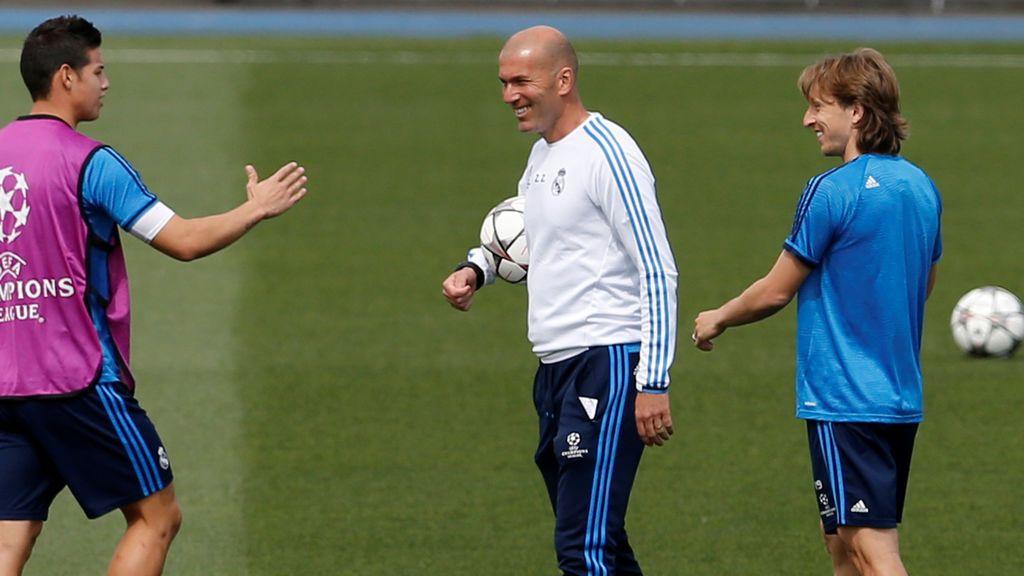 Modric confiesa lo que pensó la plantilla a la llegada de Zidane