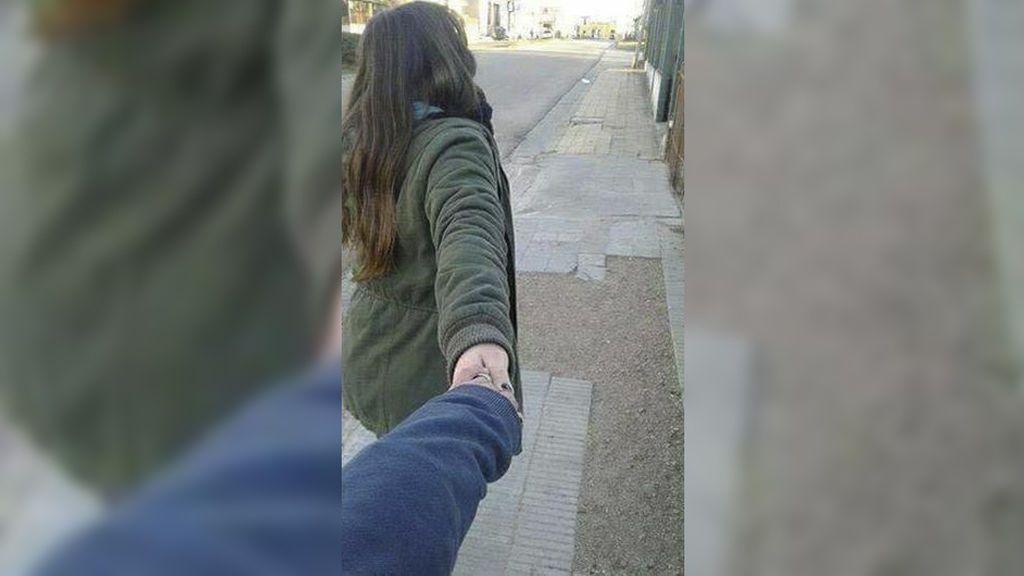 Esta joven no se imaginaba cómo iba a terminar el paseo con su novio