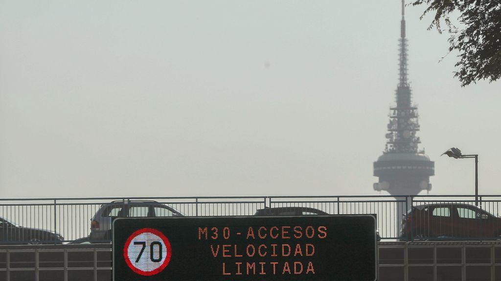 Desactivado el escenario 2 por alta contaminación en M-30 y accesos