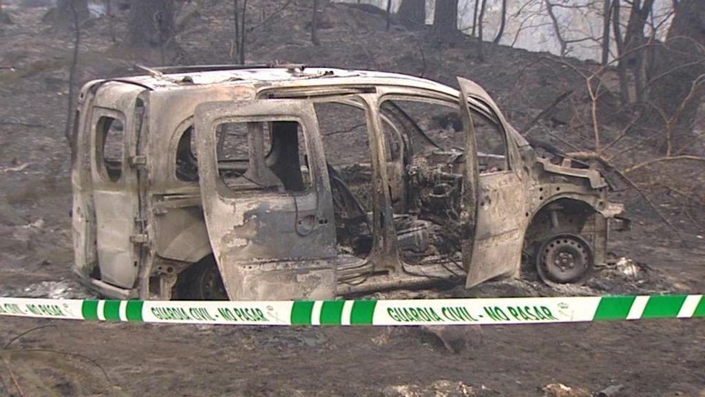 Cuatro muertos en los incendios de Galicia