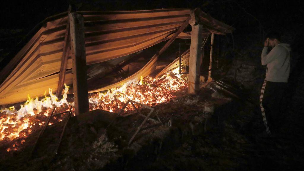 Chandebrito, la aldea en la que dos mujeres han fallecido calcinadas