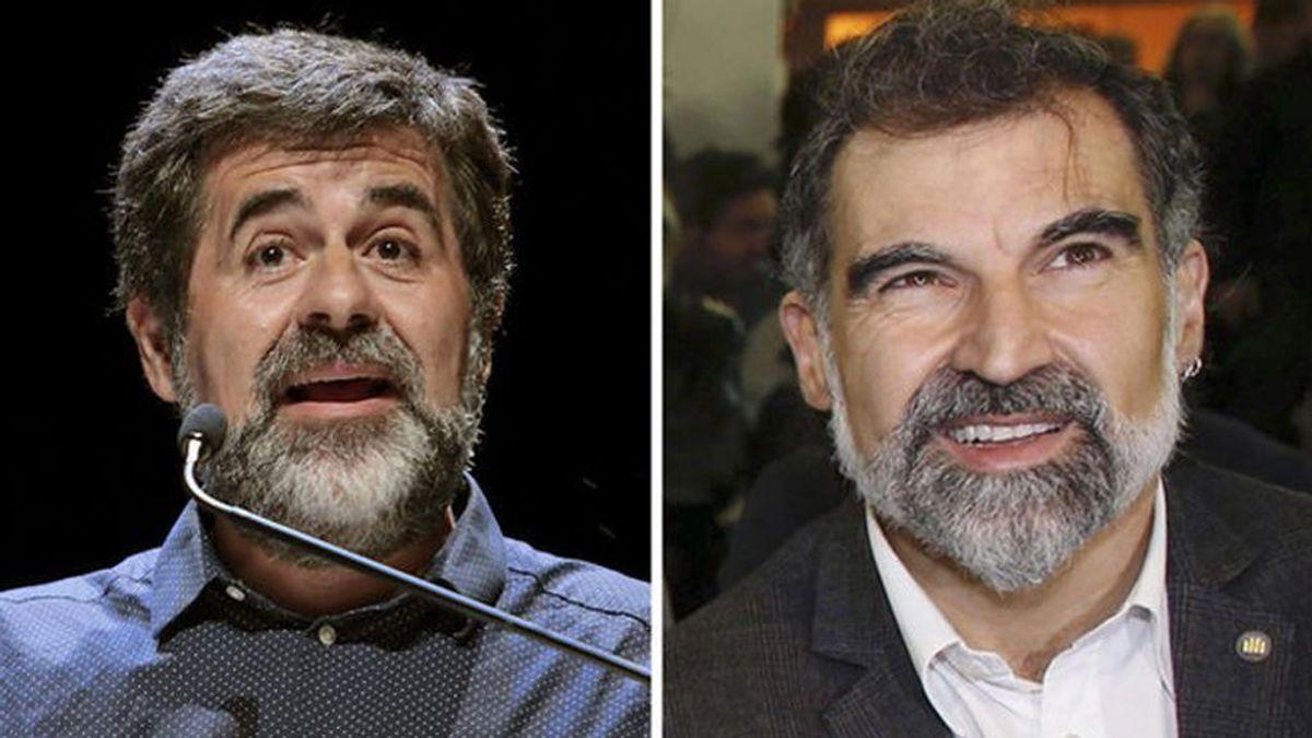 Numerosos políticos rechazan el ingreso en prisión de Jordi Sànchez y Jordi Cuixart