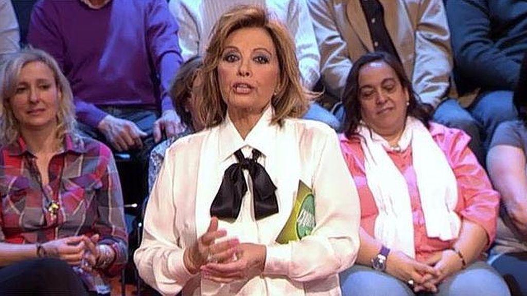 Mª Teresa Campos se marca un numerito con la Bim Bam Bum