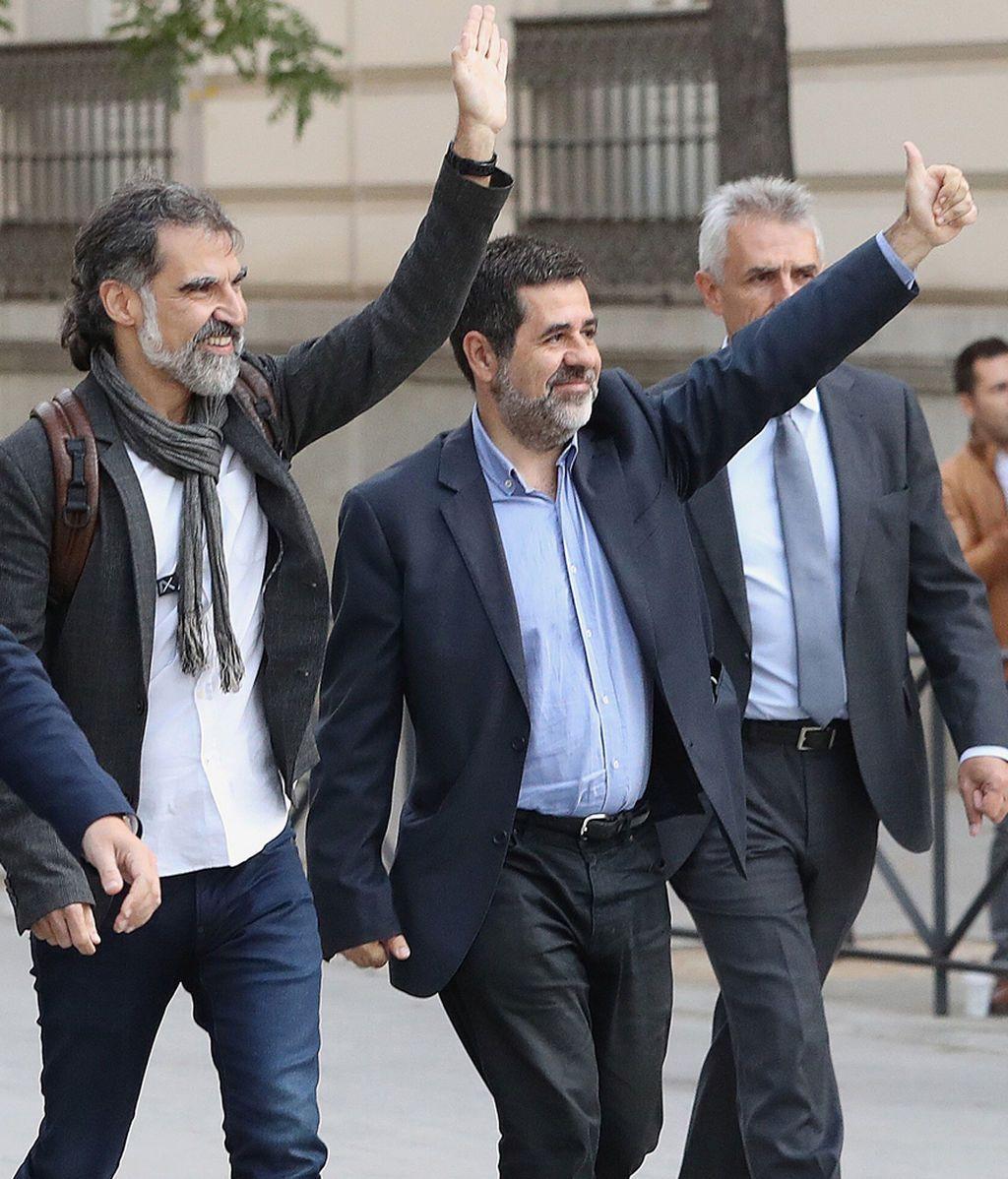 Jordi Cuixart y Jordi Sánchez, a prisión