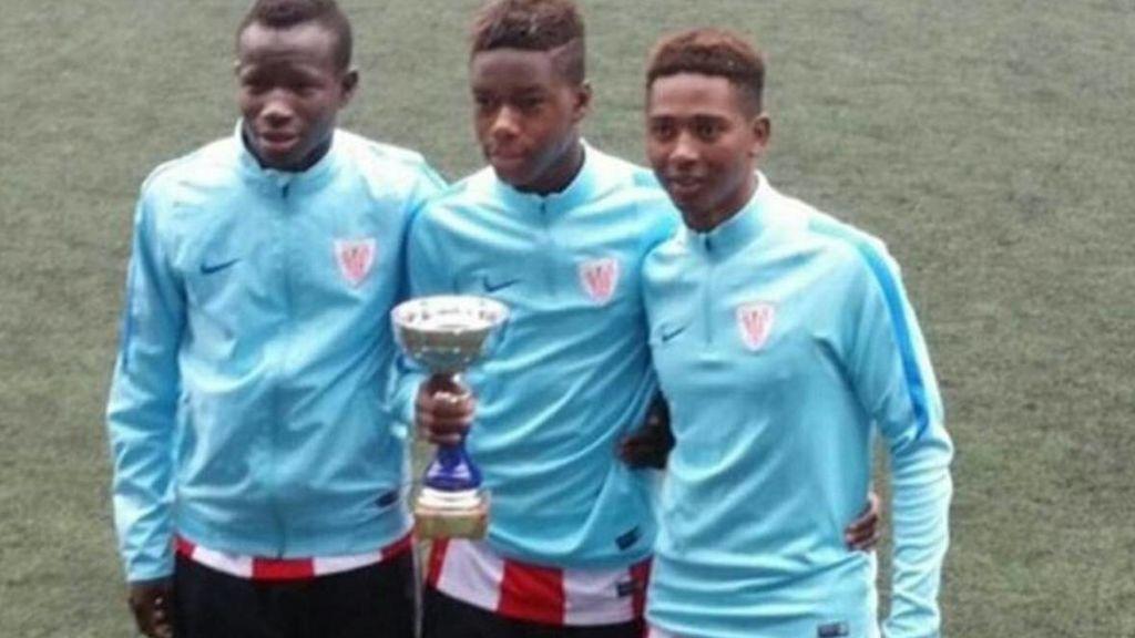 Racismo en redes sociales contra tres cadetes del Athletic