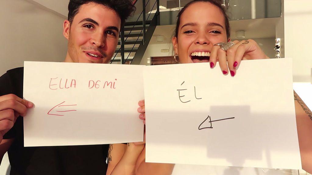 Gloria Camila maquilla a Kiko, la prueba de amor más beauty (3/3)