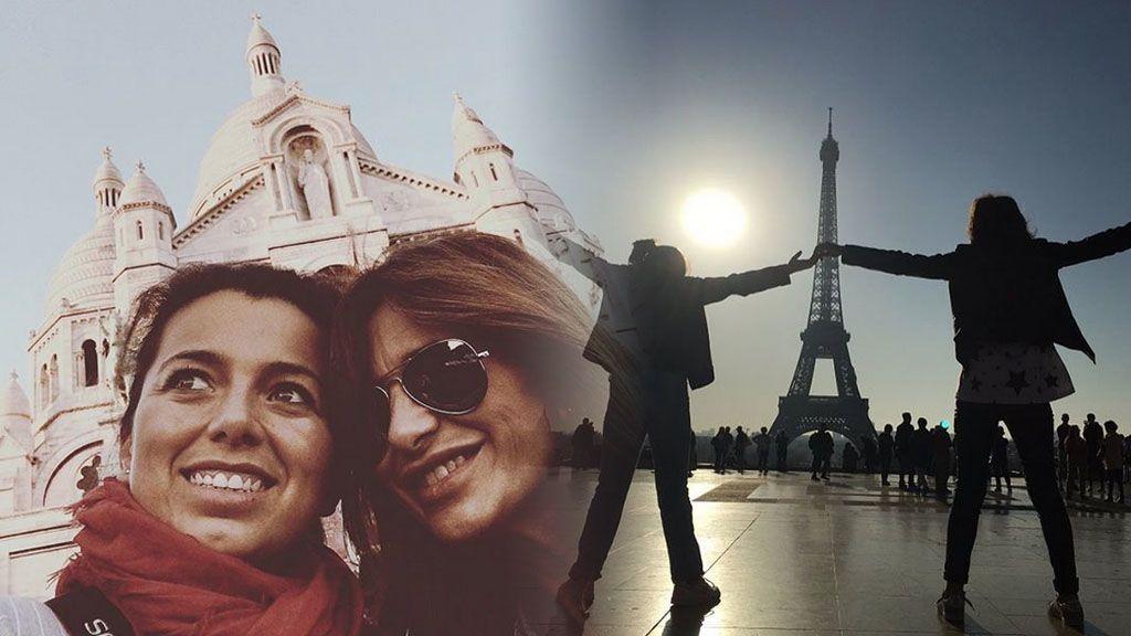 Gema López, de escapada familiar en París junto a su hermana e hija ✈
