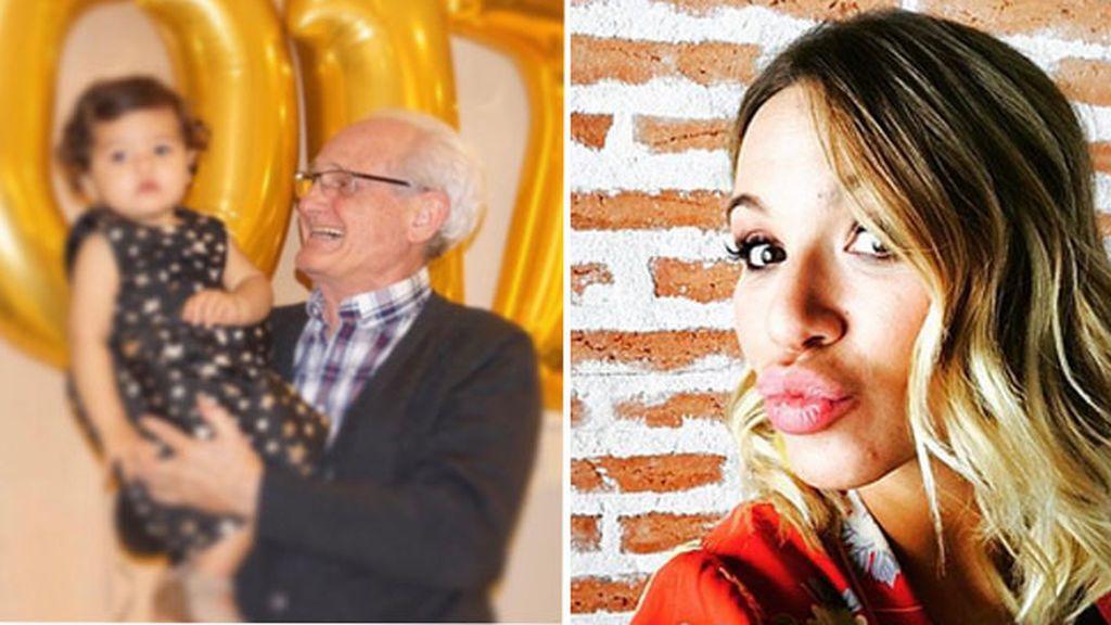Tamara Gorro aprovecha la felicitación a su 'yayito' para hacer un alegato 😍😍 por los abuelos