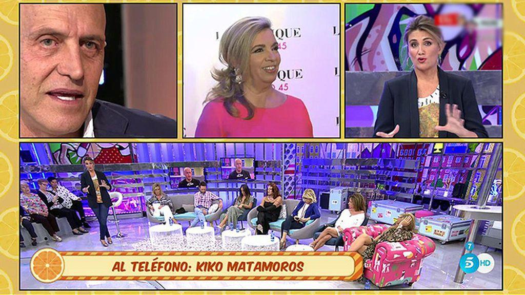 """Matamoros responde a Carmen Borrego: """"No cuestiono su profesionalidad"""""""