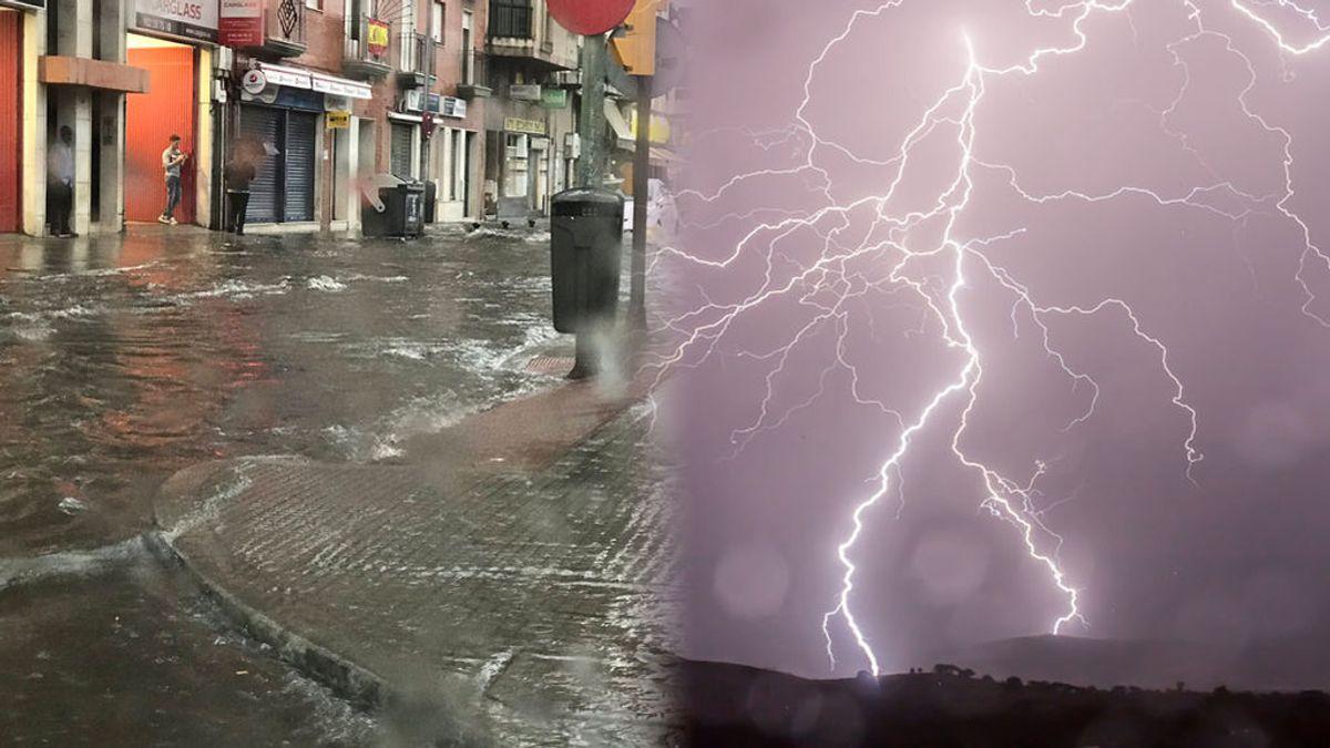 Tormenta en Huelva: lluvias, inundaciones y rayos que dejan heridos