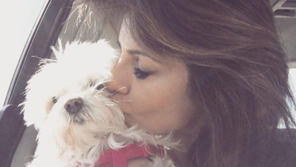"""Mónica Cruz se despide de su perrita Lola: """"Cuánto duele... Buen viaje y que seas muy feliz"""" 🐶😔"""