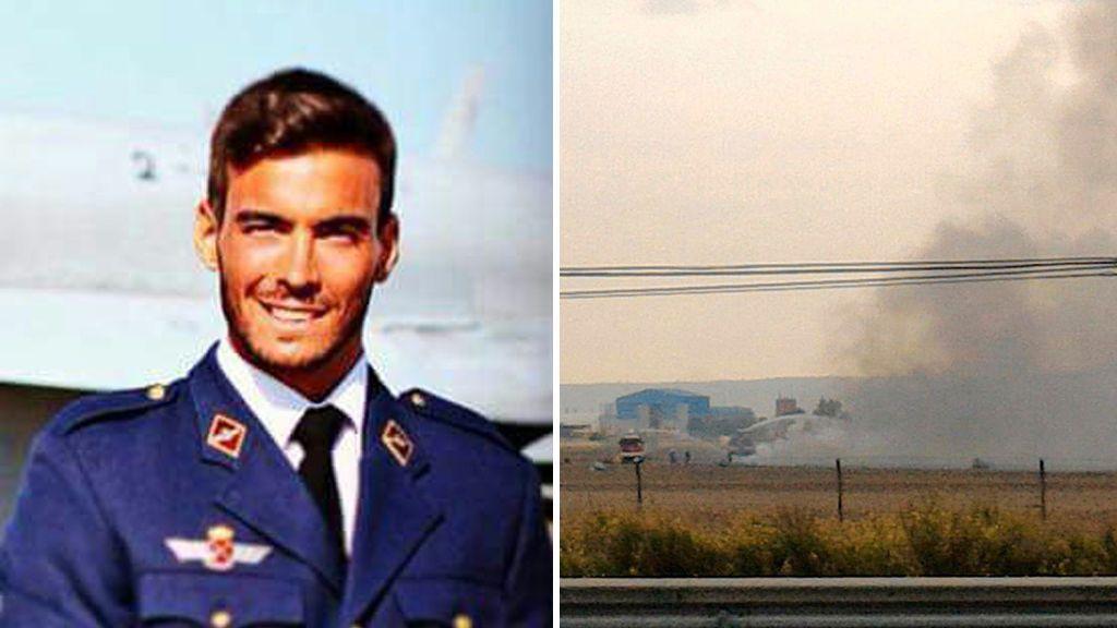 Muere un piloto al estrellarse su F18 en la base de Torrejón
