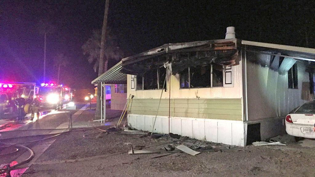 Incendia su casa con un soplete cuando intentaba matar una plaga de arañas