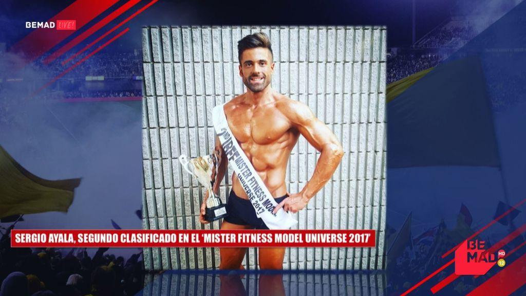 De Medina del Campo... ¡al Universo! Sergio Ayala, subcampeón de míster universo en la categoría 'Fitness Model'