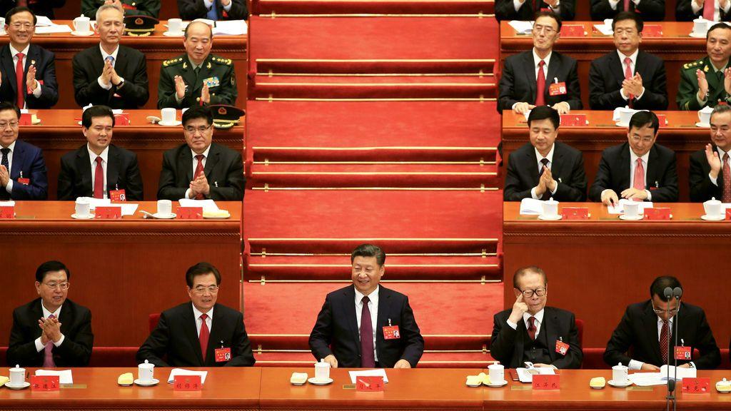 Inauguración del XIX Congreso Nacional del Partido Comunista de China