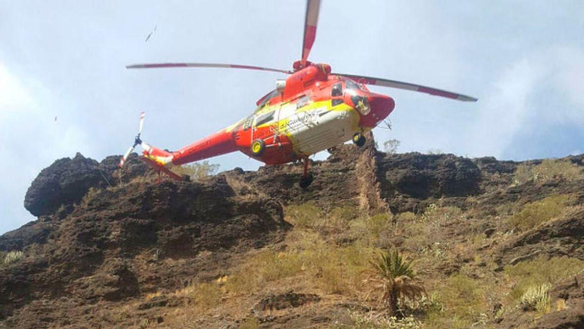 Fallece un senderista tras una caída desde ocho metros de altura en Masca (Tenerife)