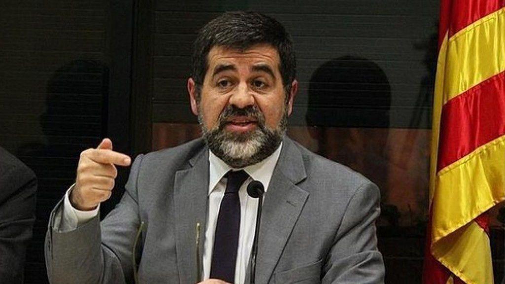Jordi Sánchez pide que le cambien de módulo porque otro recluso le gritó: ¡Viva España!
