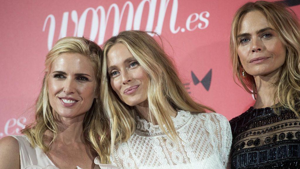 Así posaron las divas de los 90, Judith Mascó, Vanesa Lorenzo y Verónica Blume en la fiesta Woman