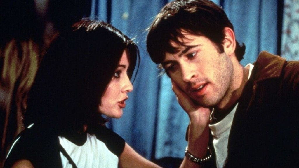 Shannen Doherty y Jason Lee