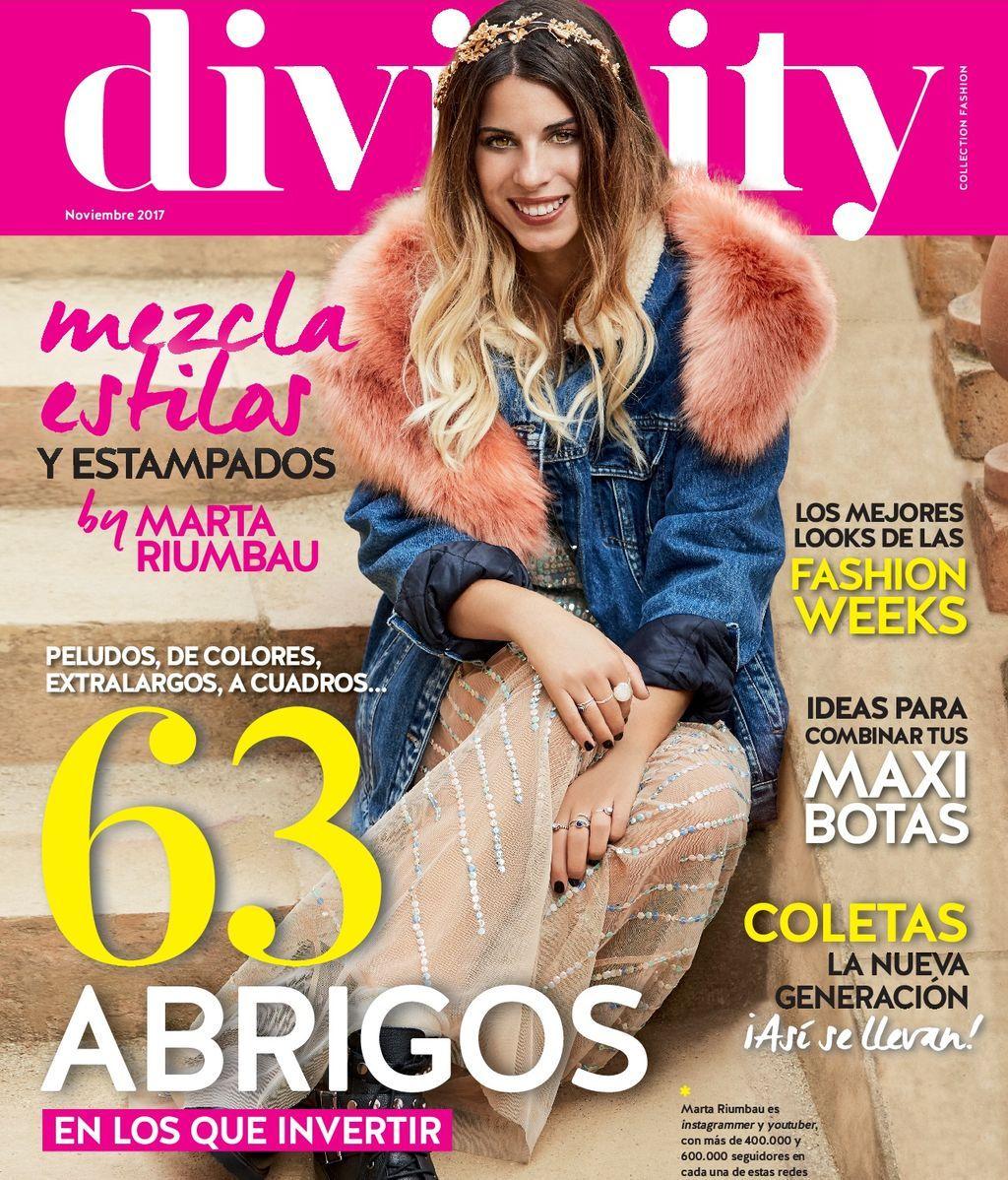¡63 abrigos en los que invertir! Ya en tu quiosco el número del mes de noviembre de la revista Divinity