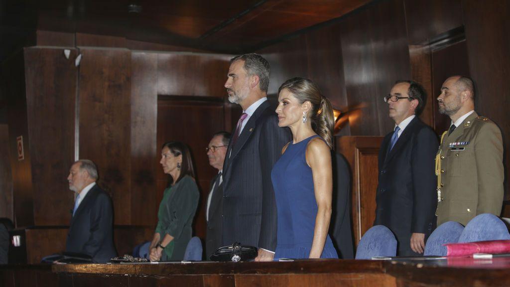 Los Reyes, en el concierto que abre los actos de los Premios Princesa de Asturias