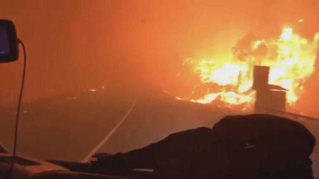 Nuevas y terribles imágenes de los incendios que han arrasado Galicia