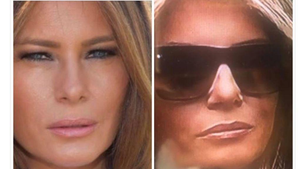 Hoy #EnLaRed: Internet está convencida de que Melania Trump tiene una doble