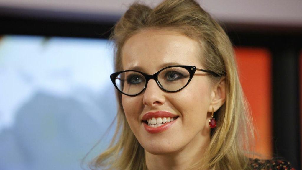 La presentadora de televisión Ksenia Sobchak