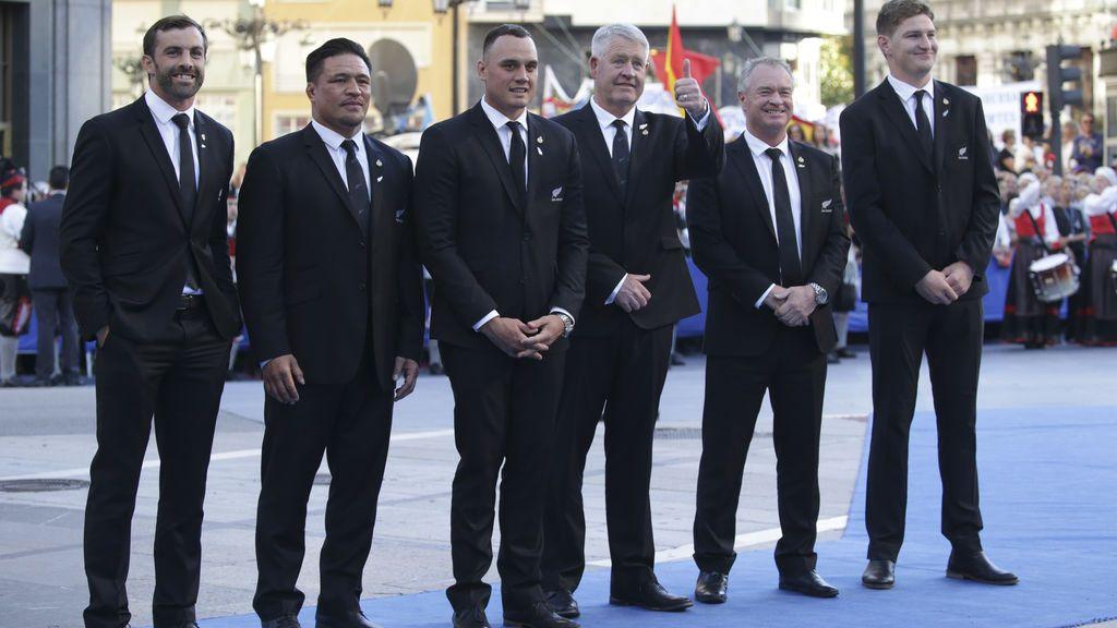 La selección de rugby de Nueva Zelanda, los All Blacks, Premio Princesa de Asturias de Deportes