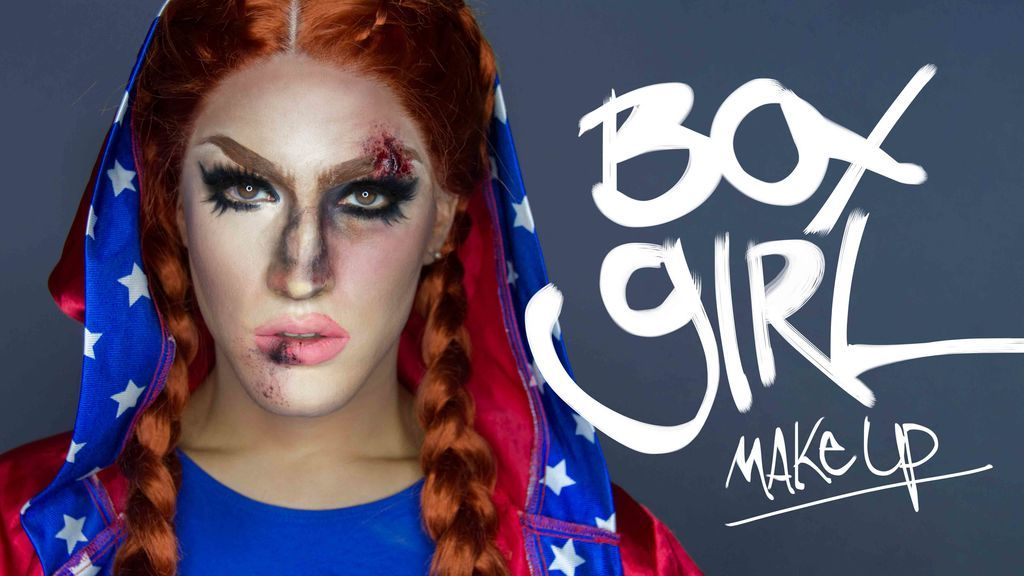 Maquillaje exprés para Halloween: Chica boxeadora